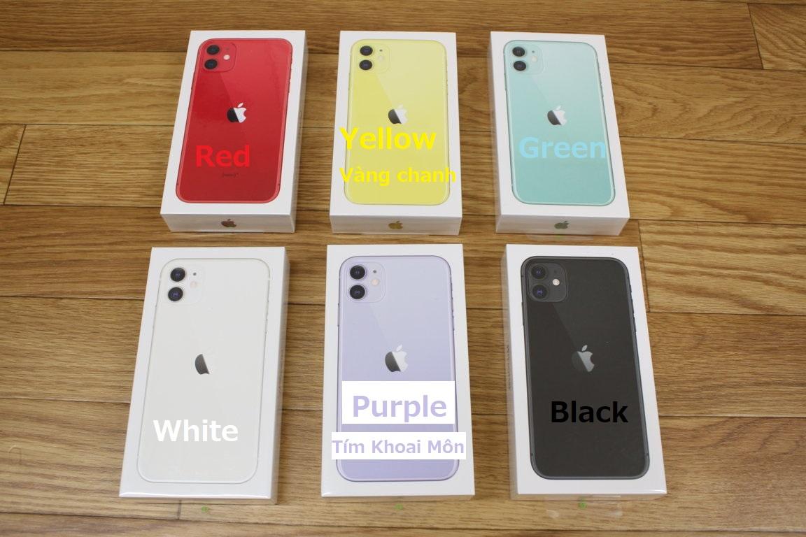 iPhone 11 6.1inh / 128G / Quốc Tế Apple Store / Mới 100% Chưa khui hộp